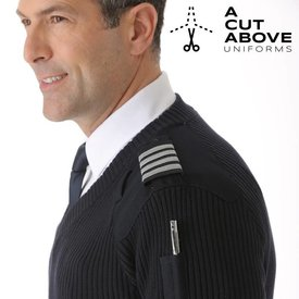 A Cut Above Uniform Sweater