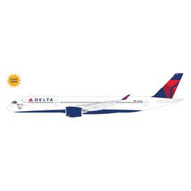 "Gemini Jets Delta Air Lines A350-900 N502DN ""The Delta Spirit"" w/ flaps down 1:200"