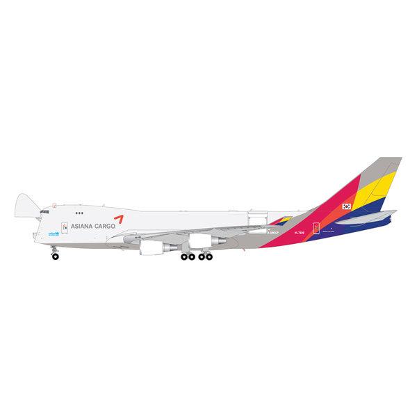 Gemini Jets B747-400F Asiana Cargo HL7616 1:200 Interactive Series