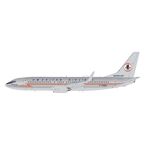 """American Airlines B737-800 N905NN polished """"Astrojet"""" livery 1:200"""