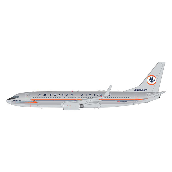 """Gemini Jets American Airlines B737-800 N905NN polished """"Astrojet"""" livery 1:200"""