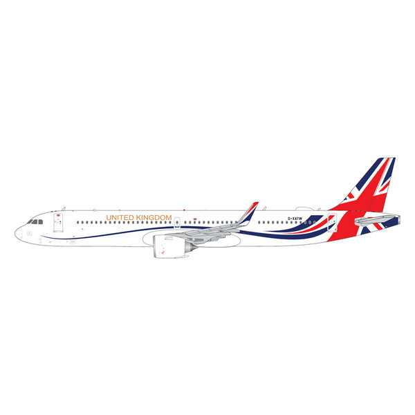 Gemini Jets A321neo Titan Airways UNITED KINGDOM G-XATW 1:400