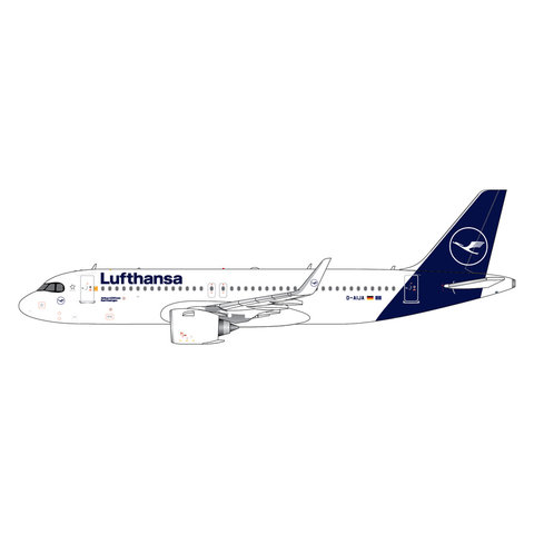 A320neo Lufthansa 2019 livery D-AIJA 1:400