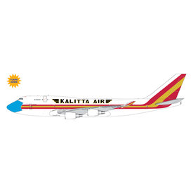Gemini Jets B747-400BCF Kalitta Air N744CK mask livery 1:400 flaps +preorder+