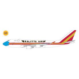 Gemini Jets Kalitta Air B747-400(BCF) N744CK mask livery, flaps down 1:400