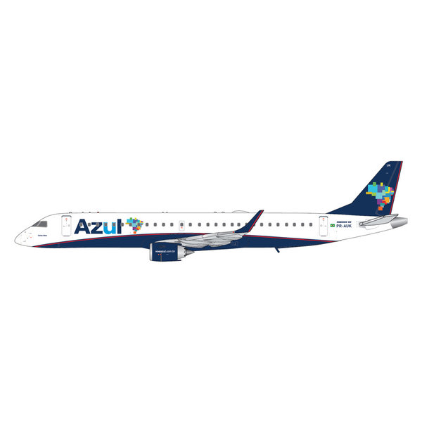Gemini Jets Embraer ERJ195 Azul Airlines PR-AUK 1:400