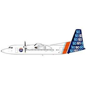 JC Wings House Color Fokker 50 PH-OSI 1:200