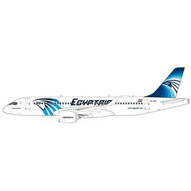 JC Wings A220-300 Egypt Air SU-GEY 1:200 with stand