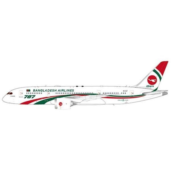 JC Wings B787-8 Dreamliner Biman Bangladesh Airlines S2-AJT 1:400