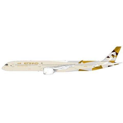 A350-1000 Etihad Airways A6-XWA 1:400 flaps down