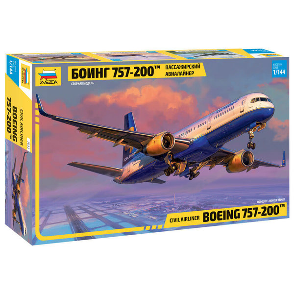 Zvesda B757-200 Icelandair 1:144 NEW 2021   [Future issue]