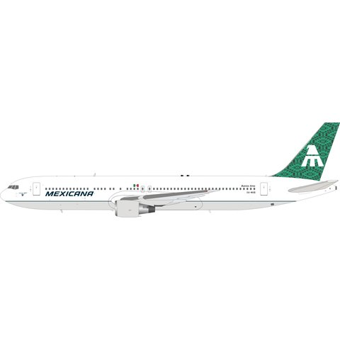 B767-300ER Mexicana XA-MXB green tail 1:200 +Preorder+