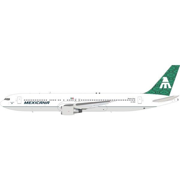 InFlight B767-300ER Mexicana XA-MXB green tail 1:200 +Preorder+
