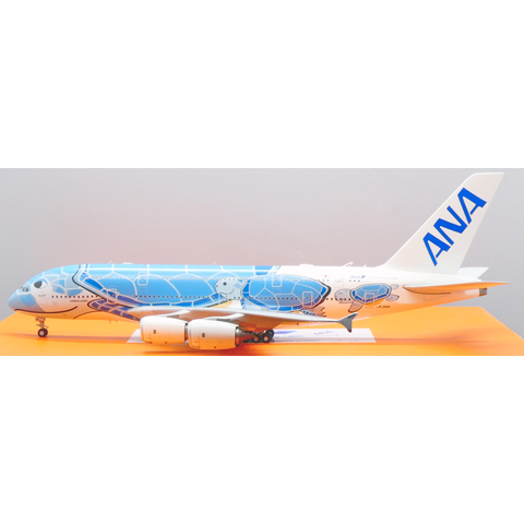 A380-800 ANA Sea Turtle Lani Blue JA381A 1:200 (2nd)+Preorder+