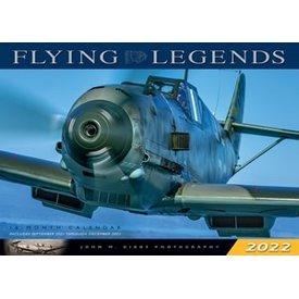 Flying Legends Calendar 2022 16 month calendar