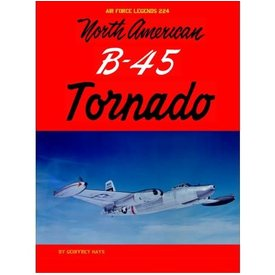 Ginter Books North American B45 Tornado: Air Force Legends #224 SC