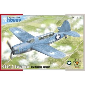 Special Hobby Brewster SB2A-4 Buccaneer 'US Marines Bomber' 1:72