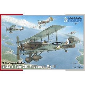 Special Hobby Vickers Vildebeest Mk.III 1:72