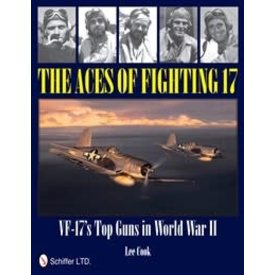 Schiffer Publishing Aces of Fighting 17: VF17's Top Guns in WWII HC +NSI+