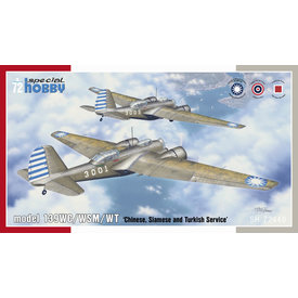 Special Hobby Martin 139WC/WSM/WT 'Chinese, Siamese and Turkish Service' 1:72