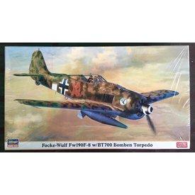 Hasegawa Fw190F-8 w/BT700 Bomben Torpedo 1:48 *Discontinued*