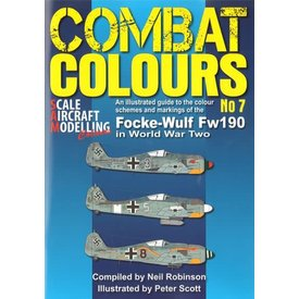 Scale Aircraft Modelling Combat Colours No.7: Focke Wulf Fw190 in WWII: CC#7 SC
