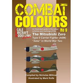 Scale Aircraft Modelling Combat Colours No.9: Mitsubishi Zero A6M Zeke in WWII: CC#9 SC