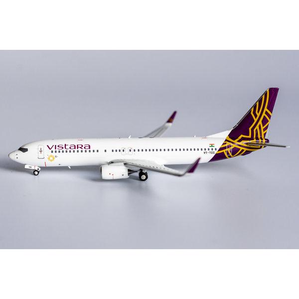 NG Models B737-800W Vistara VT-TGG 1:400