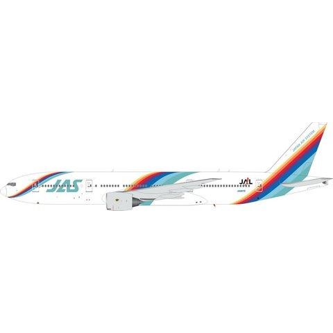 B777-200 Japan Air System JAS Rainbow c/s JA007D 1:200 +preorder+
