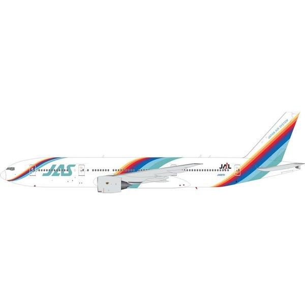 JC Wings B777-200 Japan Air System JAS Rainbow c/s JA007D 1:200 +preorder+