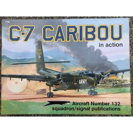 Squadron C7 Caribou: In Action #132 SC Discontinued*USED*