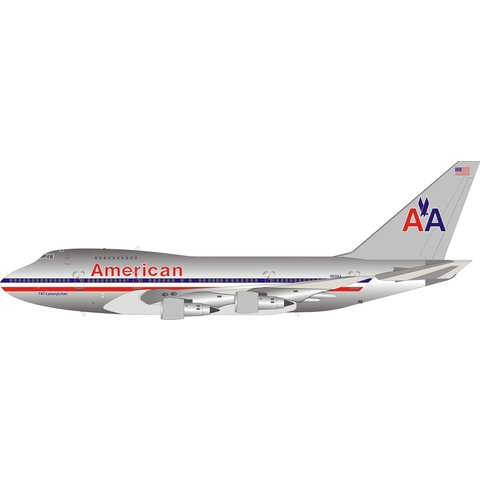 B747SP American Airlines N601AA 1:200 polished +preorder+