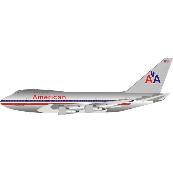 InFlight B747SP American Airlines N601AA 1:200 polished +preorder+