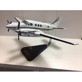 Beech King Air Transport Canada  Wooden display model