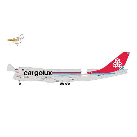 B747-400ERF Cargolux LX-LXL 1:200 (Interactive Series) +preorder+