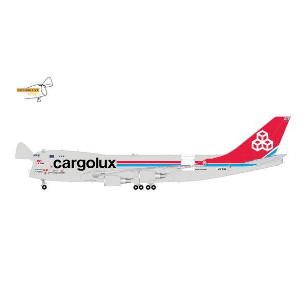 Gemini Jets B747-400ERF Cargolux LX-LXL 1:200 (Interactive Series) +preorder+