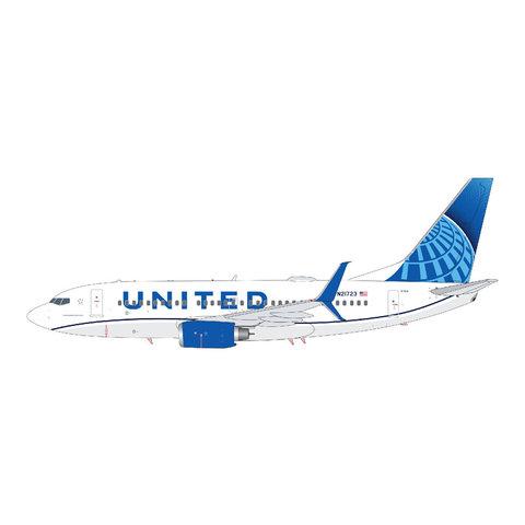 B737-700S United 2019 c/s N21723 1:200 scimitars +Preorder+