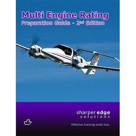 Sharper Edge Multi Engine Rating Exam Preparation Guide 2nd Edition