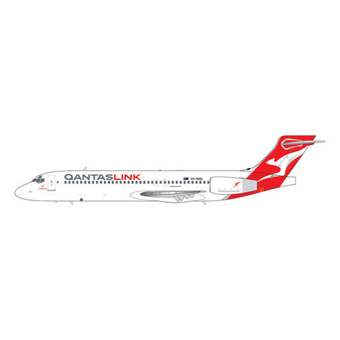 B717-200 QANTASLINK new livery VH-NXD 1:200 with stand
