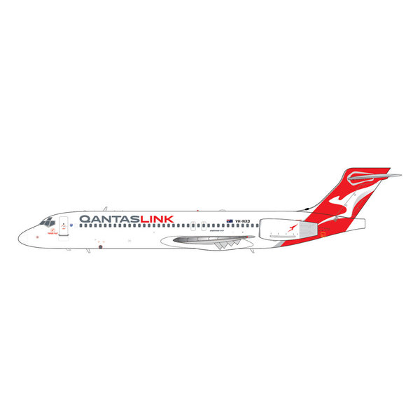 Gemini Jets B717-200 QANTASLINK new livery VH-NXD 1:200 with stand