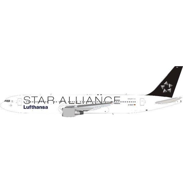 JFOX B767-300ER Lufthansa Star Alliance D-ABUV 1:200 with stand +Preorder+