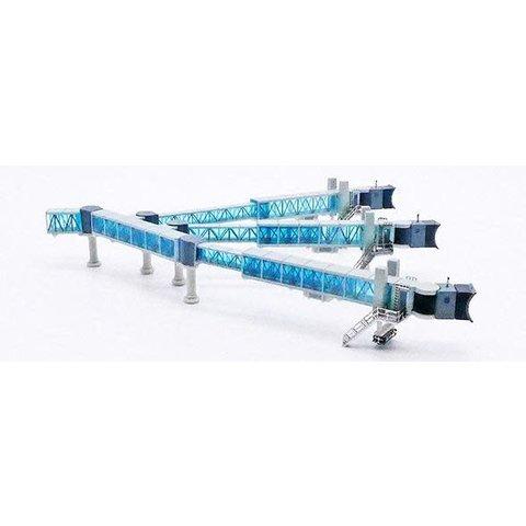 Airport Passenger Bridge A380 Blue 1:400 +preorder+