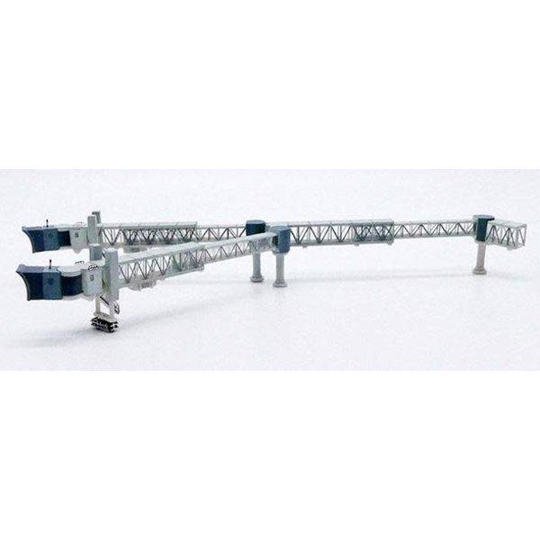 JC Wings Airport Passenger Bridge B747 Transparent 1:400 +preorder+