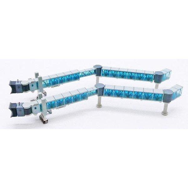JC Wings Airport Passenger Bridge B737 Blue 1:400 +preorder+
