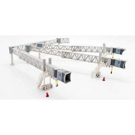 JC Wings Airport Passenger Bridge A380 Transparent 1:200 +preorder+