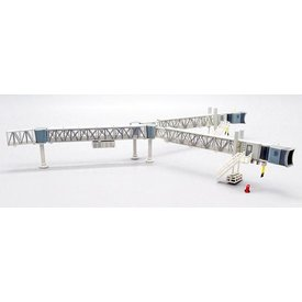 JC Wings Airport Passenger Bridge B747 Transparent 1:200 +preorder+