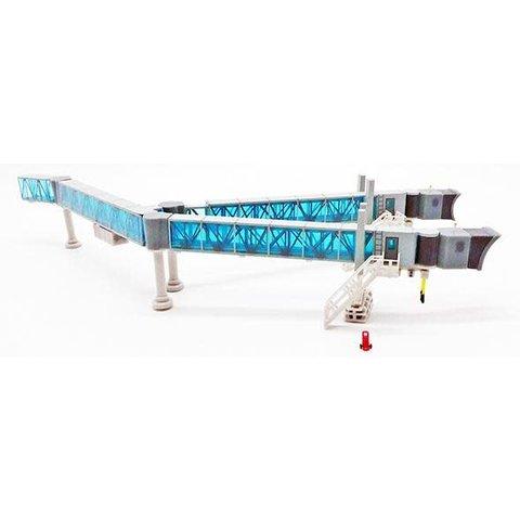 Airport Passenger Bridge B747 Blue 1:200 +preorder+