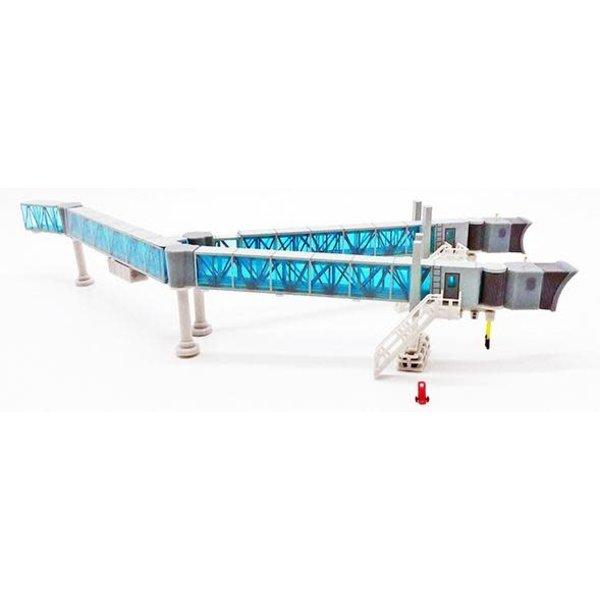 JC Wings Airport Passenger Bridge B747 Blue 1:200 +preorder+