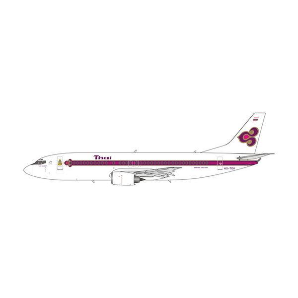 Phoenix B737-400 Thai Airways King's Logo HS-TDK 1:400 +preorder+