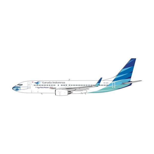 Phoenix B737-800W Garuda Indonesia PK-GFQ Mask #2 1:400 +preorder+